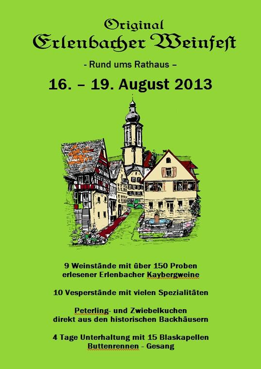Original Erlenbacher Weinfest 2013