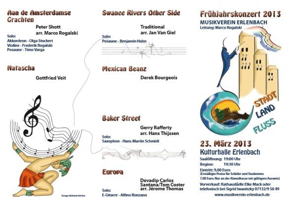 Musikverein Erlenbach Frühjahrskonzert 2013 Seite 2